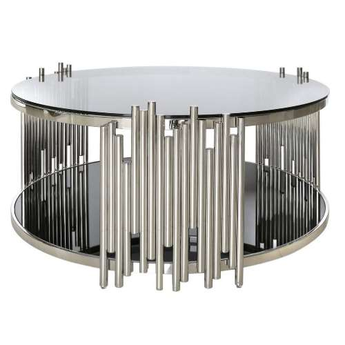 Incredible Lorenzo Silver Round Table Caraccident5 Cool Chair Designs And Ideas Caraccident5Info
